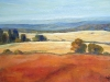 Red Earth and Wheatfields 8 30X40